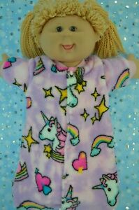 Play-n-Wear-Dolls-Clothes-To-Fit-16-034-Cabbage-Patch-POLAR-FLEECE-SLEEPING-BAG
