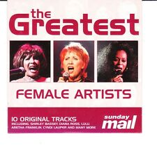 PROMO CD Greatest Female Artisrts