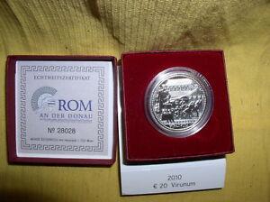 Osterreich-20-Euro-Silber-2010-PP-Virunum