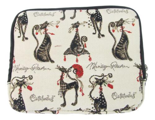 Tapestry Catitude Jewellery Travel Bag Cat Design Signare Approx 26 x 22cm