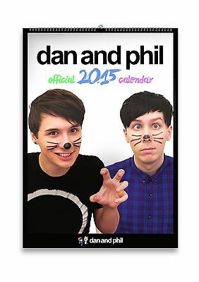Dan and Phil 2015 &2016 Calendars