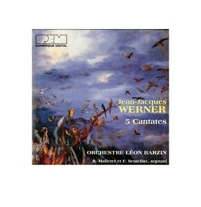JEAN-JACQUES-WERNER-CD-NEUF-5-CANTATES-ORCHESTRE-LEON-BARZIN
