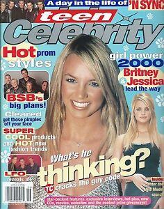 Britney Spears - Teen Celebrity - June 2000 - Backstreet ...