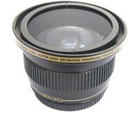 Ultra Super Hd Panoramic Fisheye Lens For Panasonic Hdc-tm900k Hdc-hs900k