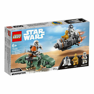 75228 LEGO Star Wars Escape Pod vs. Dewback Microfighters 177pcs Age 6+ New 2019