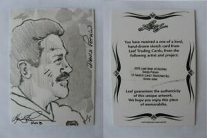 2012-13-Leaf-Best-of-Hockey-Denis-Potvin-1-1-sketch-1-of-1-RARE-2