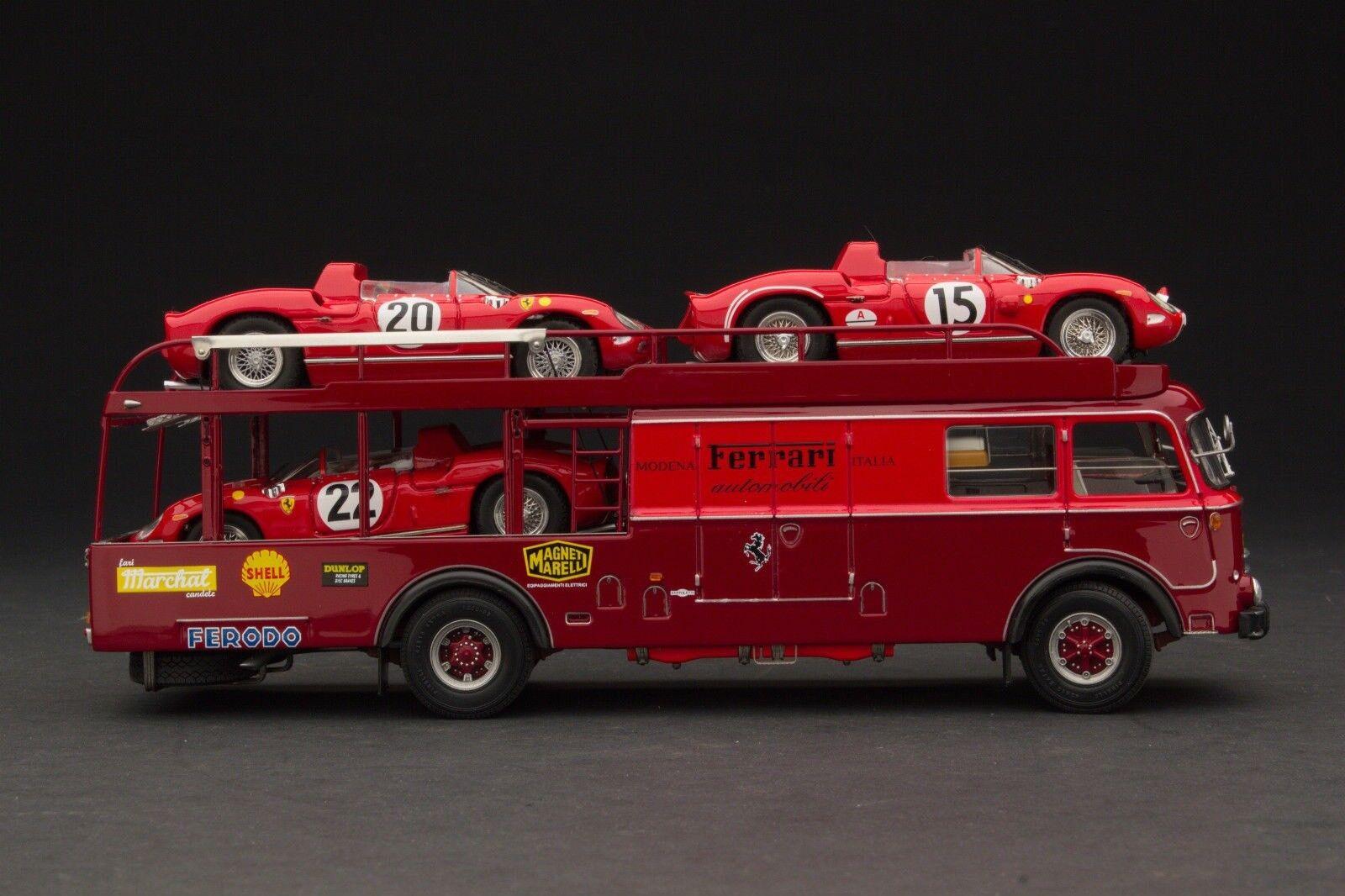 Exoto 1964 Bartoletti 682 Gift Set Le Mans 1 43 NIB +