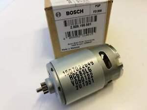 ORIG BOSCH 2609120203 Motor zu GSR 14 4-2 Gleichstrommotor 1607022523  12 Zähne