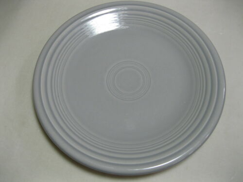 """FIESTA Grey Gray Pearl 7 1//4/"""" Plate Fiestaware  HLC USA Retired Color"""