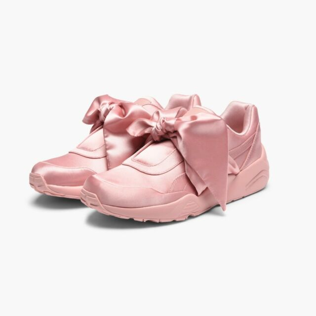 buy popular c9fd2 34b59 Womens PUMA Rihanna X PUMA Fenty Bow SNEAKERS 10