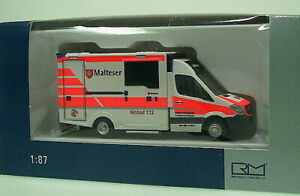 1-87-Rietze-WAS-MB-Sprinter-2012-Design-RTW-Malteser-Kloster-Bad-Wimpfen