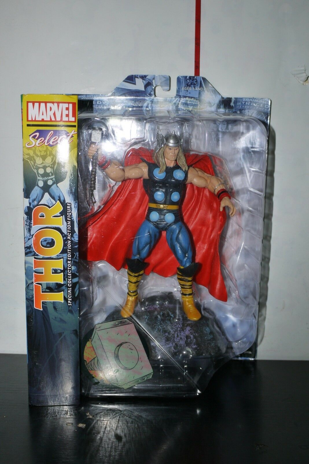 MARVEL SELECT CLASSIC THOR THOR THOR ACTION FIGURE MIB 156bcd