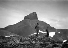 Photo. 1920s. Garibaldi Provincial Park, BC. Black Tusk Mountain