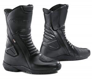 STIVALI-BOOTS-MOTO-IMPERMEABILI-FORMA-JASPER-OUTDRY-TOURING-LEATHER-PELLE-TG-43
