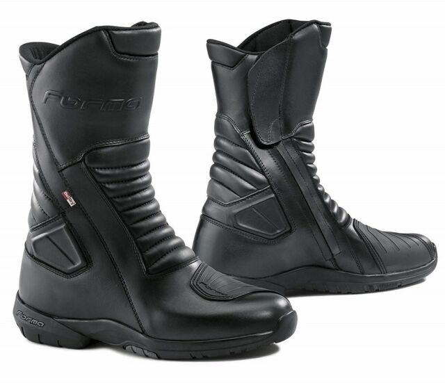 STIVALI BOOTS MOTO IMPERMEABILI FORMA JASPER OUTDRY TOURING LEATHER PELLE TG 44