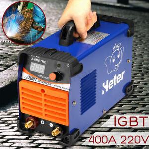 MMA Electric Welder 220V 400A Welding Inverter Machine ARC-400A IGBT Handheld