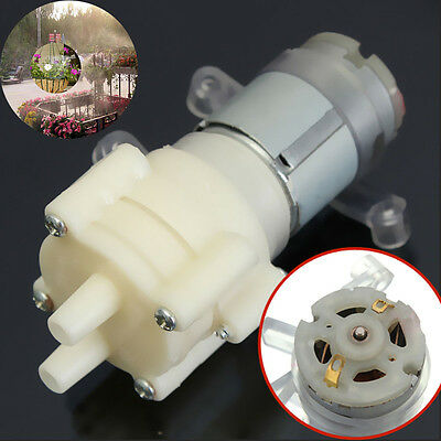 90x40x35mm 6W Priming Diaphragm Pump Spray Motor 12V for Water Dispenser filter