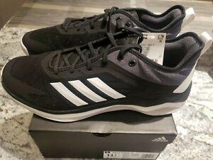 Size 11.5 CG5131 Black Baseball Shoes