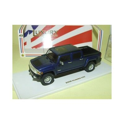 HUMMER H3T PICK UP 2008 Blanc LUXURY COLLECTIBLES SPARK 101294 1:43