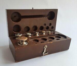 Details about  /Vintage Soviet Weights Sofia Bulgaria Kofardzhiev USSR Original Case Rare Old