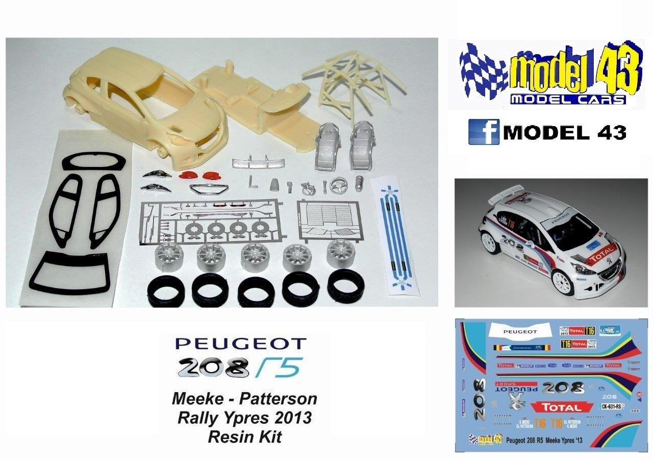 Peugeot 208 T16 R5 - ASSEMBLY KIT - MEEKE - RALLY YPRES 2013 - PRESENTATION