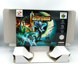 Castlevania Legacy of Darkness - reproduction box with insert - N64 - PAL.