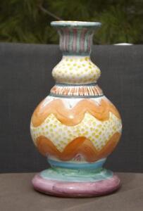 Mackenzie Childs Brittany Bud Vase 7 1