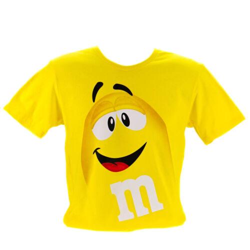 Kids Cotton T Shirts M/&M/'s Chocolates Red Green Blue Yellow Orange 9-12 Years