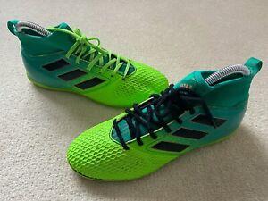Adidas-Vert-Junior-5-Football-Baskets-Astro-Turf-Football-Chaussures-Boots-698001
