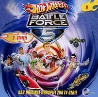Hot Wheels Battle Force 5/Hörspiel zur TV-Serie (2012) 2. Staffel Teil 1 ovp/CD