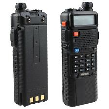 BaoFeng UV-5R UHF/VHF  Radio Transceiver 3800mah Battery Built-in VOX Walkie