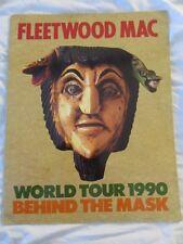 FLEETWOOD MAC 1990  Behind The Mask Concert Tour Program Book!!!