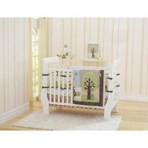 Busy Bee Turtle 4 Piece Crib Bedding Set Baby Nursery   eBay