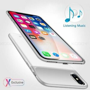 info for 7e07d 1f17a Details about Ultra-Thin Charger Battery Case For iPhone X XR Power  Charging Bank Case Cover