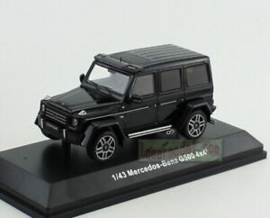 1/43 Scale Mercedos Benz G500 4x4² Black Diecast