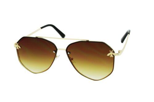 Designer Fashion Bee UV400 Rimless POLARIZED Sunglasses Women Shades Eyewear