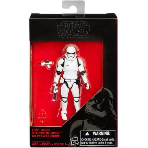 Star Wars The Black Series #04 First Order Stormtrooper TFA 6 inch MIB #2