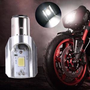 Super bright Headlight Bulb LED Motorcycle 1x H4 BA20D DC 6V-14V 12W COB B Nice