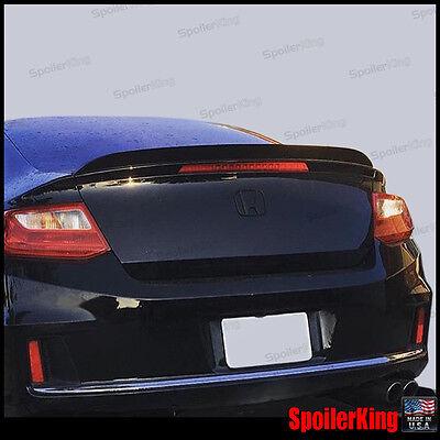 SPK 284G Fits Honda Accord 2008-12 4dr Rear Trunk Lip Spoiler Duckbill Wing