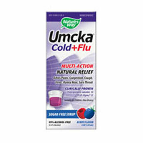 Umcka Cold & Flu Barry Syrup 4 OZ by Nature's Way