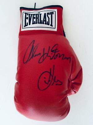 Thomas Hitman Hearns Signed Boxing Glove 6 Jsa Witness Jsa W213018 Sports Mem Cards Fan Shop Photos Gloriajeanscoffees Co Th