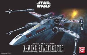 Japan-Bandai-Star-Wars-1-72-X-Wing-Starfighter-Plastic-Model