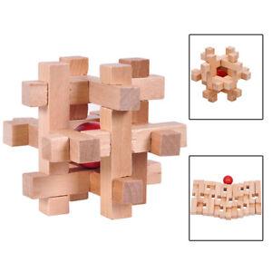 De Puzzle Madera Educativo Rompecabezas Juguete Mágica Detalles CnLuban Bloqueo Bola gIYbvf76y