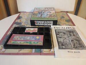 Acheter Pas Cher Excalibur-jeu De Plateau-chevaliers Du Roi Arthur-wotan Games 1989-afficher Le Titre D'origine Une Gamme ComplèTe De SpéCifications