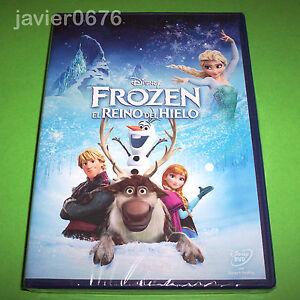 FROZEN-EL-REINO-DEL-HIELO-CLASICO-DISNEY-NUMERO-55-DVD-NUEVO-Y-PRECINTADO