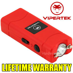 VIPERTEK-VTS-881-55-BV-Rechargeable-Micro-Mini-Stun-Gun-LED-Flashlight-Red