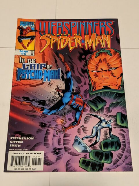 Webspinners Tales Of Spider-Man #5 May 1999 Marvel Comics