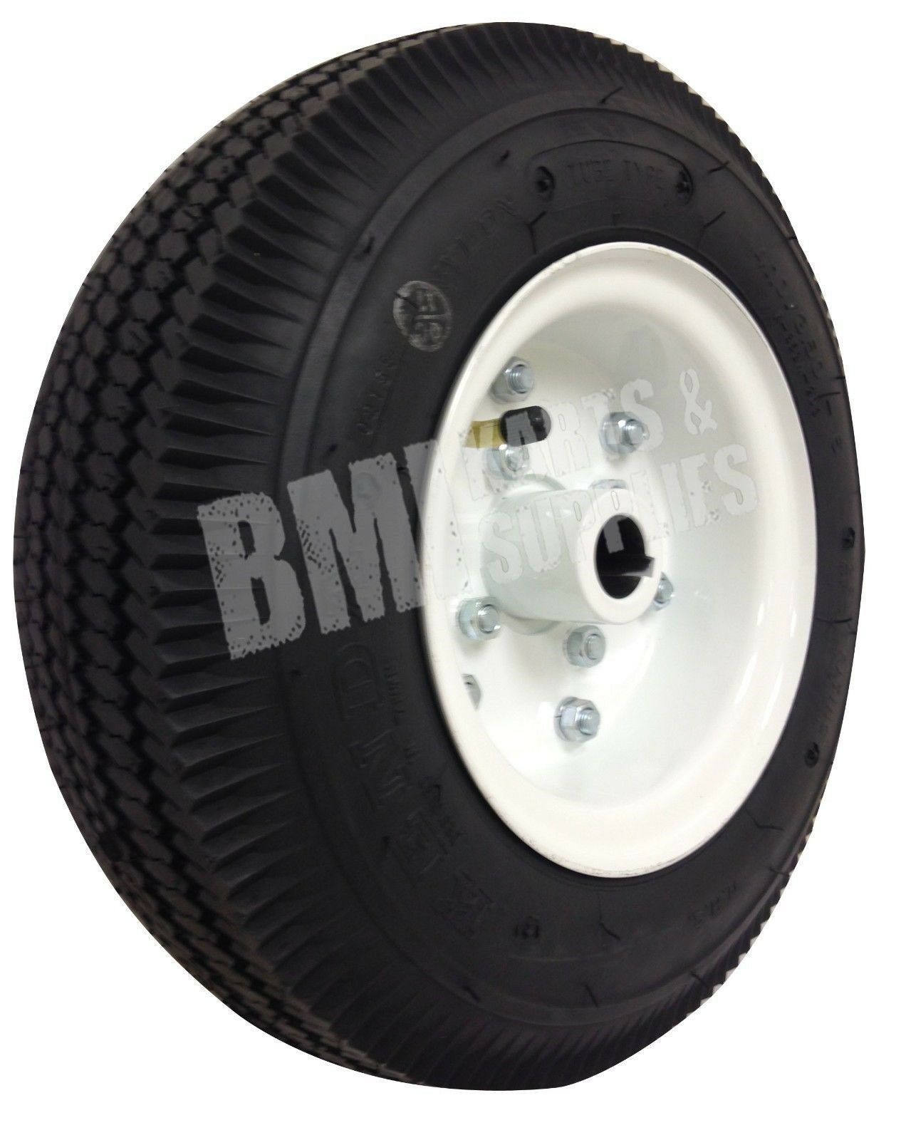 4.10 3.50 Tire with Split 5  Rim (1   Bore) - Rear Go Kart Carts Wheel Parts  quality guaranteed