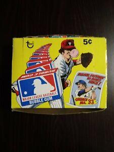 1979-Topps-Major-League-Baseball-Bubble-Gum-Comics-Box-120-Packs-Pcs