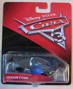 Disney PIXAR Cars JACKSON STORM #20 race car BRAND NEW CASTING